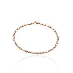 Bracelet or rose 750°/ooo...