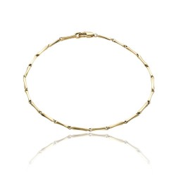 Bracelet or jaune 750 °/ooo...