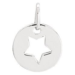 pendentif argent étoile