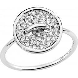 Bague or gris 750°/oo diamant