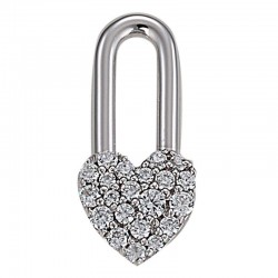 Charms argent LUCKY