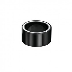 Bague acier Black PVD