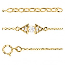bracelet plaqué or OZ