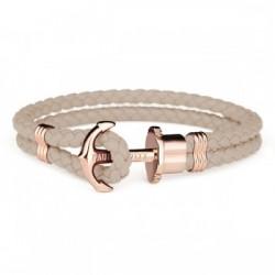 Bracelet Acier IP rose /...