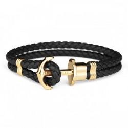 Bracelet Acier IP doré /...