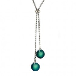 Collier Argent Epure N°36,...