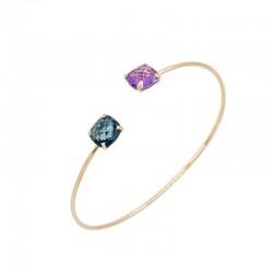 Bracelet or 750 °/ooo rose...