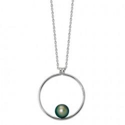 Collier Argent 1 perle...