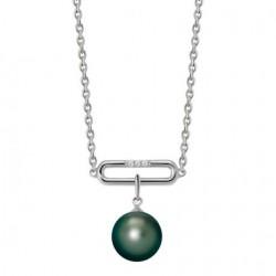 Collier Argent perle de...